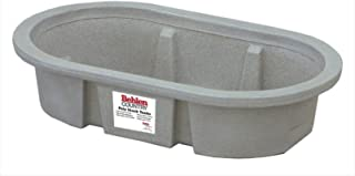 Behlen Country PRE214 50-Gallon Poly Stock Round-End Tank