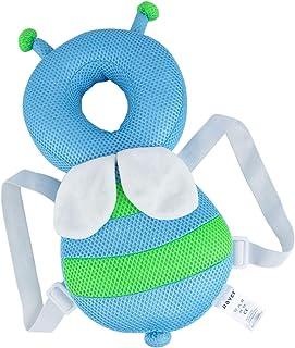 赤ちゃんのごっつん防止 やわらかリュック ベビー ヘッドガード 乳幼児用 保護枕 肩紐自由調整 転倒防止 怪我防止 柔らかい素材 出産祝い 適用年齢6ヶ月~18ヶ月