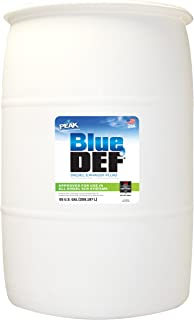 blue def 55 gallon drum