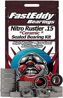 Traxxas Nitro Rustler .15 Ceramic Rubber Sealed Ball Bearing Kit for RC Cars