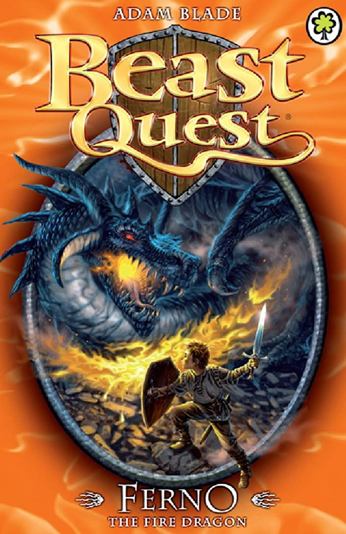 頬骨重力旋回Ferno the Fire Dragon: Series 1 Book 1 (Beast Quest) (English Edition)