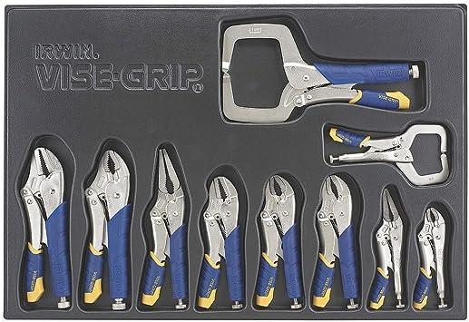 Irwin Industrial Tool Co Irht82596 10 Piece Fast Release Locking Pliers Set
