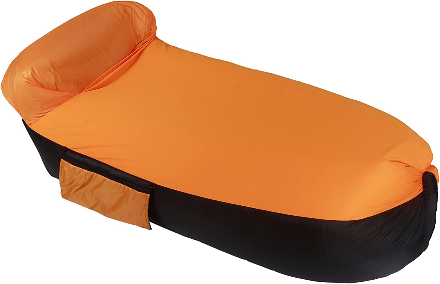 Inflatable Lounger Couch, URVOGUE Portable Relax Air Bag Sofa Lazy Bed Sleeping Chair for Camping Beach