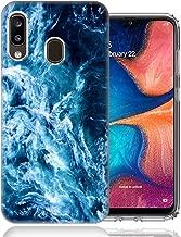 for Samsung A10E/A20E Deep Blue Ocean Waves Design TPU Gel Phone Case Cover