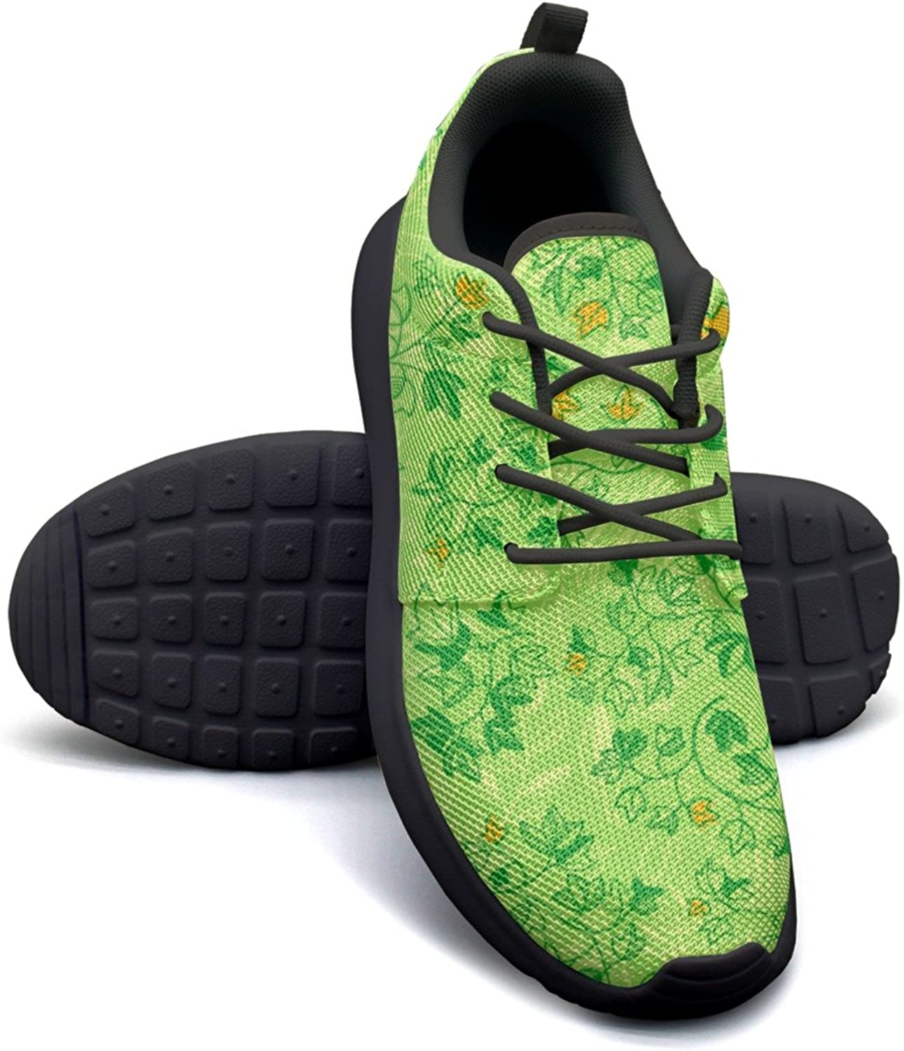 ERSER Ivy Leaves Artificial Green Stability Running shoes Women