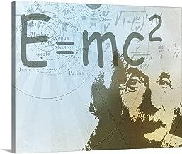Albert Einstein Canvas Wall Art Print, 20