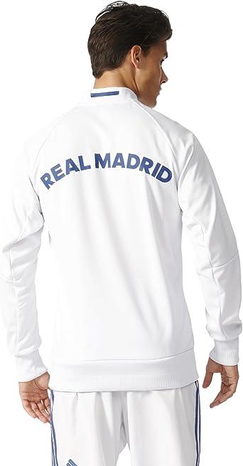 adidas Real Madrid 16/17 Home Anthem Crywht/RawPur Jacket