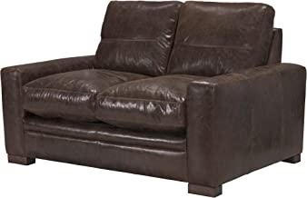 ACME Furniture Made in Italy Modena Loveseat, Vintage Espresso Top Grain Leather