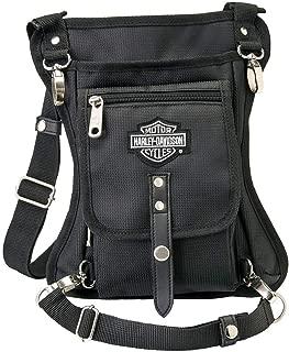 Harley-Davidson Side Slinger 2-IN-1 Shoulder Bag/Leg Holster - Black 98223