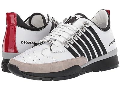 DSQUARED2 251 Sneaker (White/Black) Men