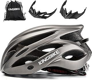 KINGBIKE Ultralight Bike Helmets with Rear Light +...