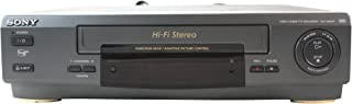 Sony SLV-662HF Hi-Fi Stereo VHS Video Cassette Recorder Player Adaptive Control