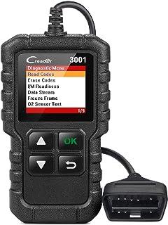 اداة تشخيص السيارات 3001 لقراءة رمز السيارة مع موصل محول او بي دي 2 من سي ريدر3001