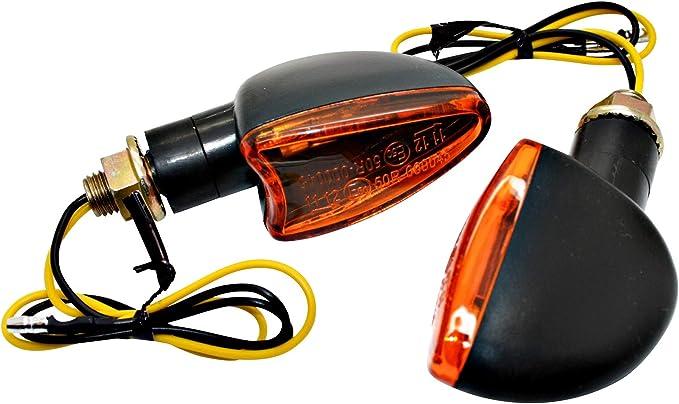 Led Mafia Halogen Mini Blinker Kurz Arrow Motorrad Quad Custom Orange Ece Kennung E 2 Auto