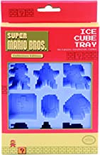 Nintendo Super Mario Bros Reusable Silicone Ice Cube Tray for Fun Shaped Ice Cubes