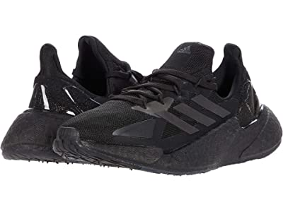 adidas Kids x9000L4 Boost (Big Kid) (Core Black/Core Black/Grey Six) Kids Shoes