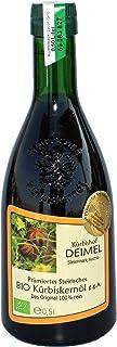 Kürbishof DEIMEL - 500ml Organiczny olej z pestek dyni styryjskiej z Austrii - produkt nagrodzony - z gwarancją pochodzenia
