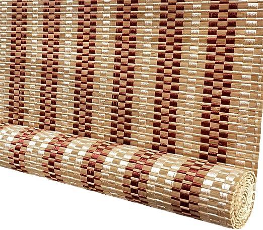 Persianas de Bambu Sombra Enrollable al Aire Libre, Cortina ...
