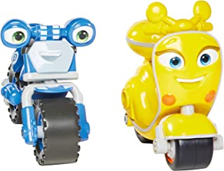Ricky Zoom T20045 Loop & Scootio 2 Pack, 3 Inch Action Figures Wheeling, Free Standing Kids Motorbike Toys for 3+ Year Old...
