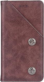 MeetJP Nokia 6.1 Plus シェル, Nokia 6.1 Plus 財布 シェル,ポーチ, プレミアム スリム レザー 財布 バック シェル ?と クレジット カード ID ホルダー 保護 カバー の Nokia 6.1 Plus,