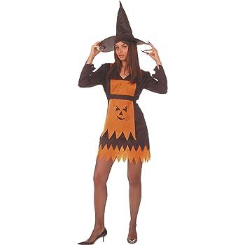 César - Disfraz de bruja piruja con sombrero para mujer (adulto ...