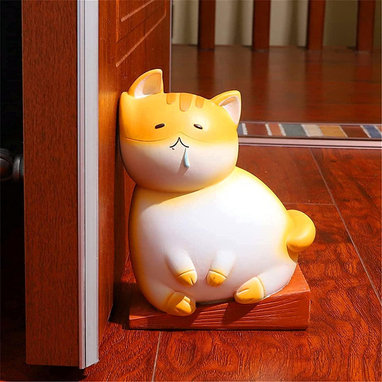 2021 New Cat Shaped Doorstop Pattern Bookend Popular product wholesale Decorativ Cartoon