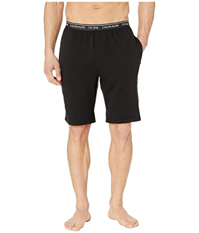 Calvin Klein Underwear CK One Basic Lounge Shorts (Black) Men