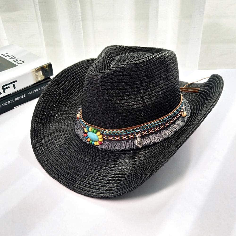 BCHDREUU Beach Hat Womens Sun Hat 1PCS Outdoor Sun Hat Western Cowboy Hat Sun Hat Mountaineering Knight Hat Travel Sun Hat Sunhat Womens (Color:D)