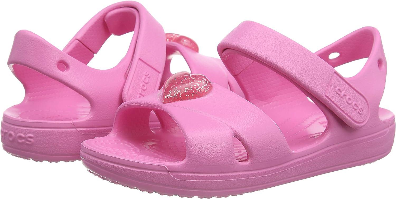 Crocs Unisex-Child Kids' Classic Cross-Strap Sandals