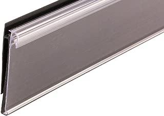 FFR Merchandising 4401947405 Data Strip SuperGrip Label Holder for Shelf Channel, 1-1/4