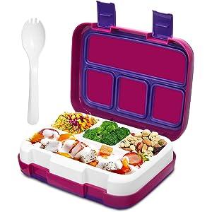 Frebw Compartment Bento Box green, 800ml