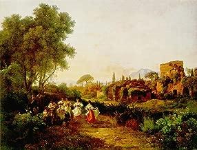 Wine Harvest Tarantella by Karoly Marko The Elder - 20