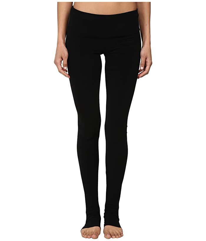 KAMALIKULTURE by Norma Kamali Go Legging (Black) Women's Clothing