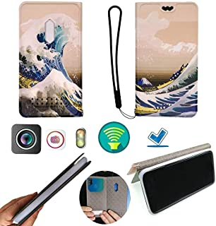 FY Flip Case For Tecno Spark 4 Lite Cover Flip PU Leather + Silicone Ring case Fixed XSHL