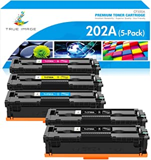 خرطوشة حبر متوافقة مع الصور الحقيقية لطابعة HP 202A CF500A 202X HP Laserjet Pro MFP M281fdw M281cdw M254dw M281fdn M254dn ...