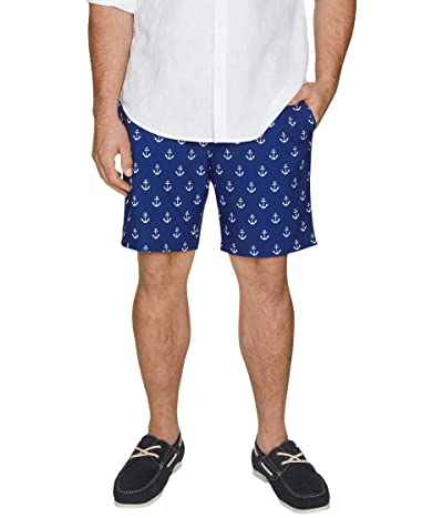 Johnny Bigg Big Tall Anchors Away Swim Shorts (Royal) Men