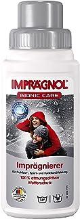 IMPRÄGNOL Protector Calzado Bionic Care Impregnator 250ml - para Ropa y Tela Expuestos a Lluvia - Impermeable Anti Agua