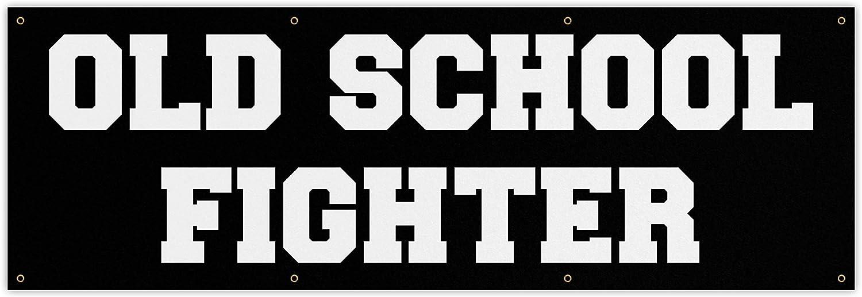 Damdekoli Old School Fighter Banner - Tucson Mall Gym Home Quo Ranking TOP19 Large Decor