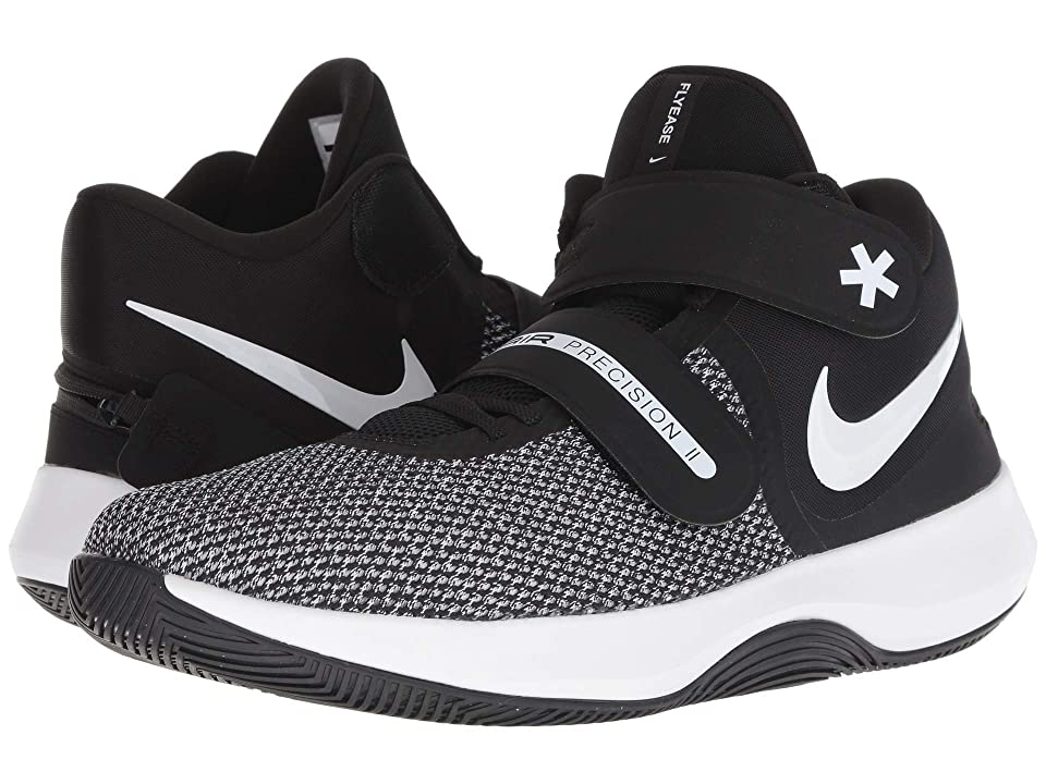 Nike Air Precision II FlyEase (Black/White/Volt) Men