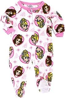 Disney Princess Girls Fleece Blanket Sleeper Pajamas (Baby)