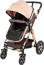 Best VEVOR Baby Stroller 2 in 1 Stroller Bassinet Stroller Foldable Anti-Shock Newborn Stroller Baby Carriage Stroller Luxury Baby Trend Stroller Stroller for Baby Pram Stroller Review