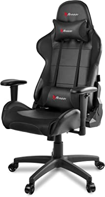 Arozzi Verona V2 Advanced Racing Style Gaming Chair with High Backrest, Recliner, Swivel,