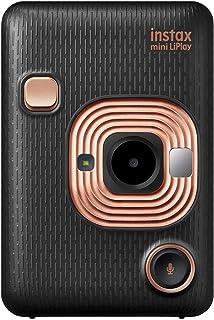 Fujifilm Instax Mini Liplay Hybrid Instant Camera - Elegant Black
