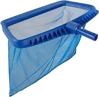 Leaf Skimmer Net, Swimming Heavy Duty Deep-Bag Pool Rake Leaf Picker Cleaning Net Swimming Pool Supplies for Pond, Hot Tu...