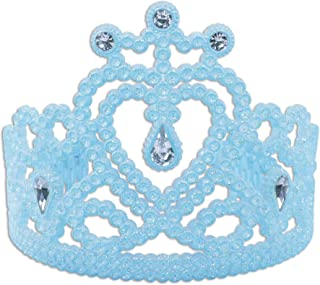 Bristol Novelty Womens/Ladies Heart Tiara With Faux Gems