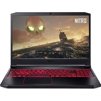 "Acer Nitro 7 Gaming Laptop, 15.6"" Full HD IPS Display, 9th Gen Intel i7-9750H, GeForce GTX 1050 3GB, 8GB DDR4, 256GB PCIe NVMe SSD, Backlit Keyboard, AN715-51-70TG"