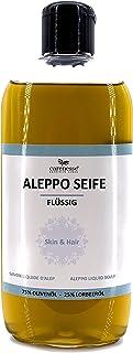 """Carenesse Mydło w płynie """"Aleppo"""", 75% oliwy z oliwek + 25% oleju laurowego, 500 ml"""