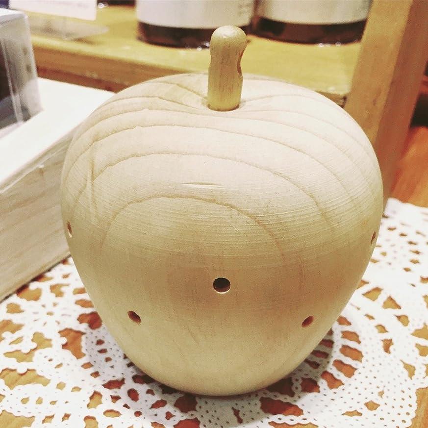 鍔太い利点タジマヤ ウッドアップル 森の香り125g(カートリッジ3個入)天然木の芳香剤 ルームフレグランス