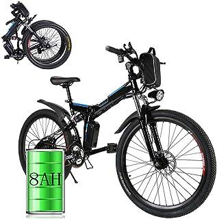 Bunao bicicletta elettrica city bike pieghevole a pedalata assistita
