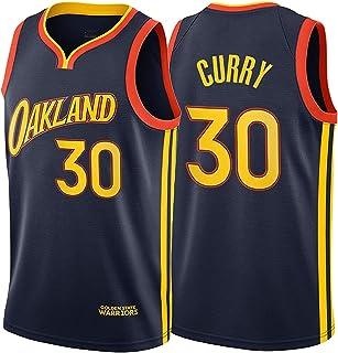 30 camiseta corta tops sin mangas de verano Jersey de fan uniformes de estrellas trajes de ropa deportiva para hombres y mujeres uniforme de entrenamiento de baloncesto Stephen Curry Warriors No